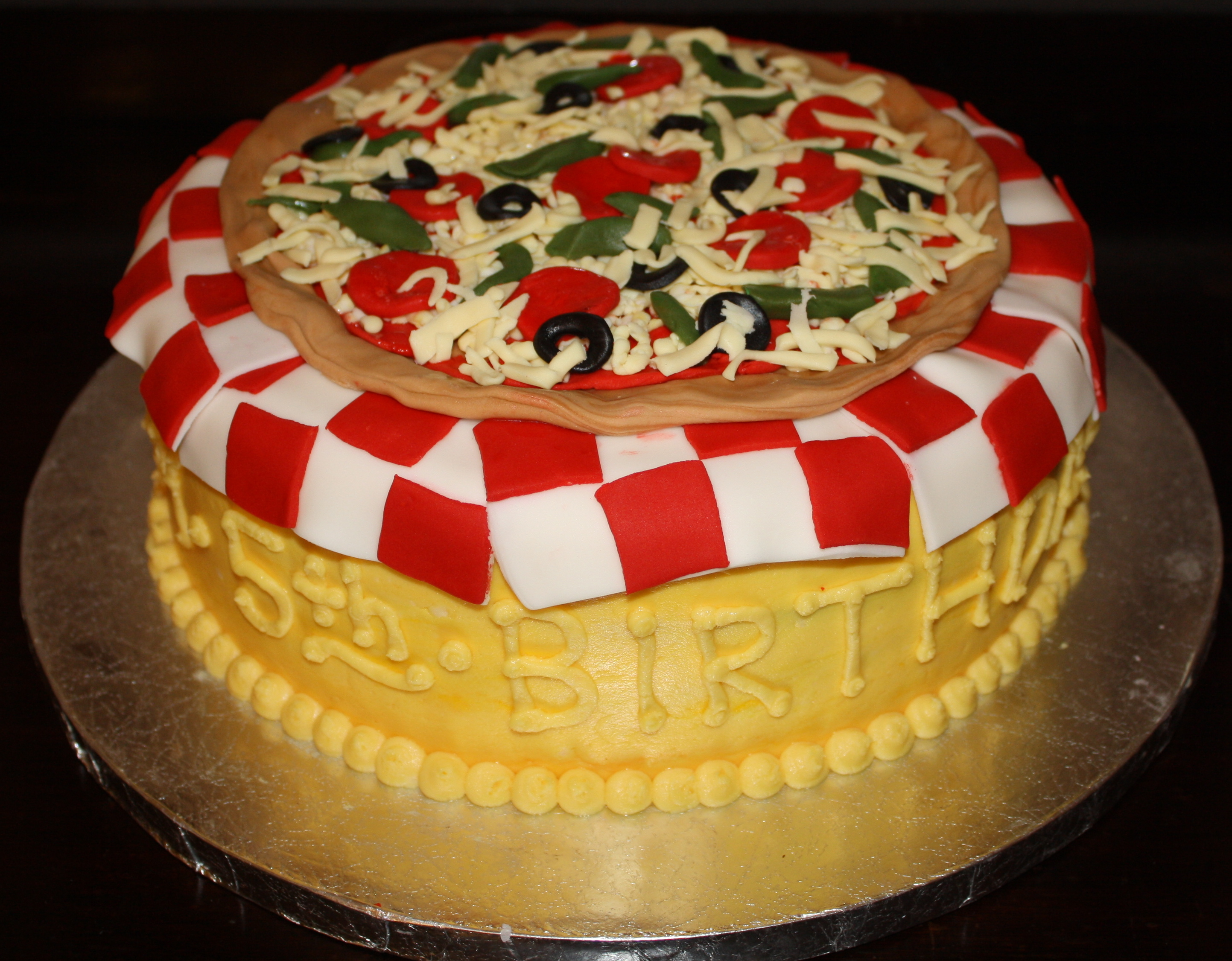 pizza birthday cake pizza part 2 honeycombs cookie company 6618