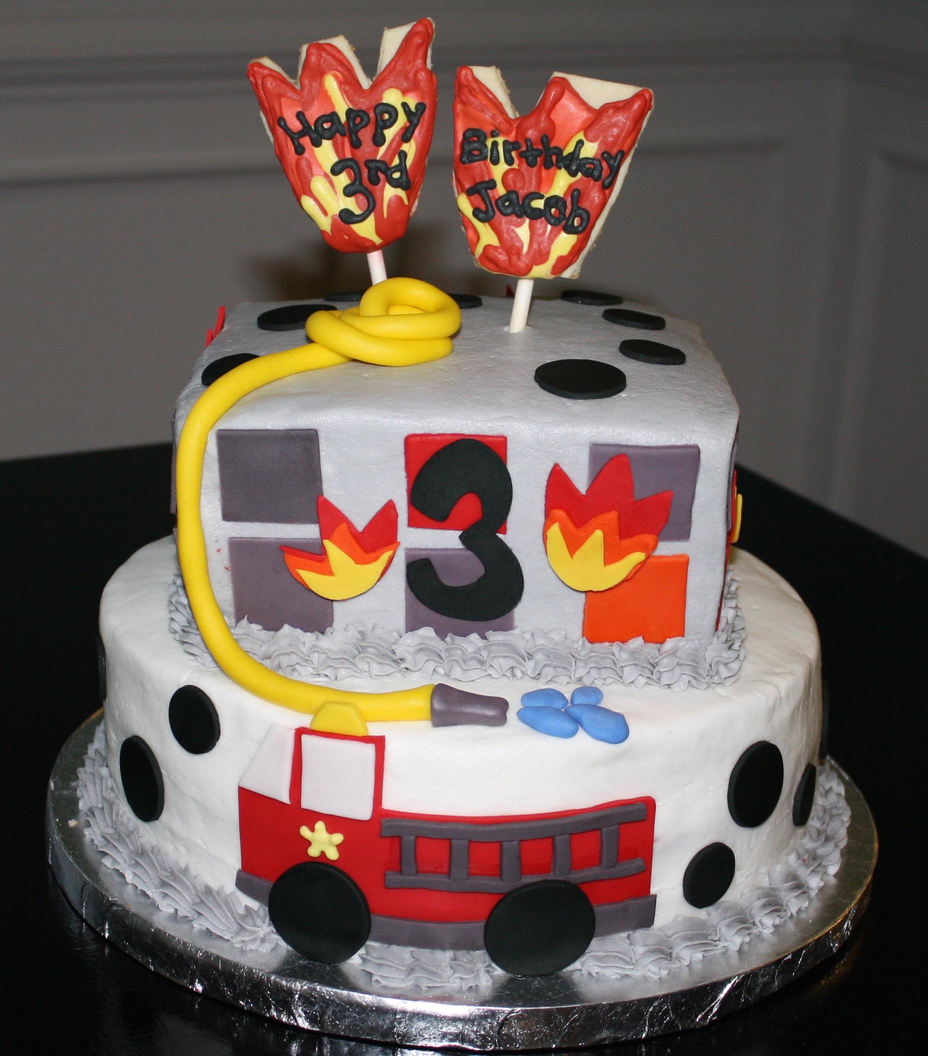 fireman birthday honeycombs cookie company. Black Bedroom Furniture Sets. Home Design Ideas