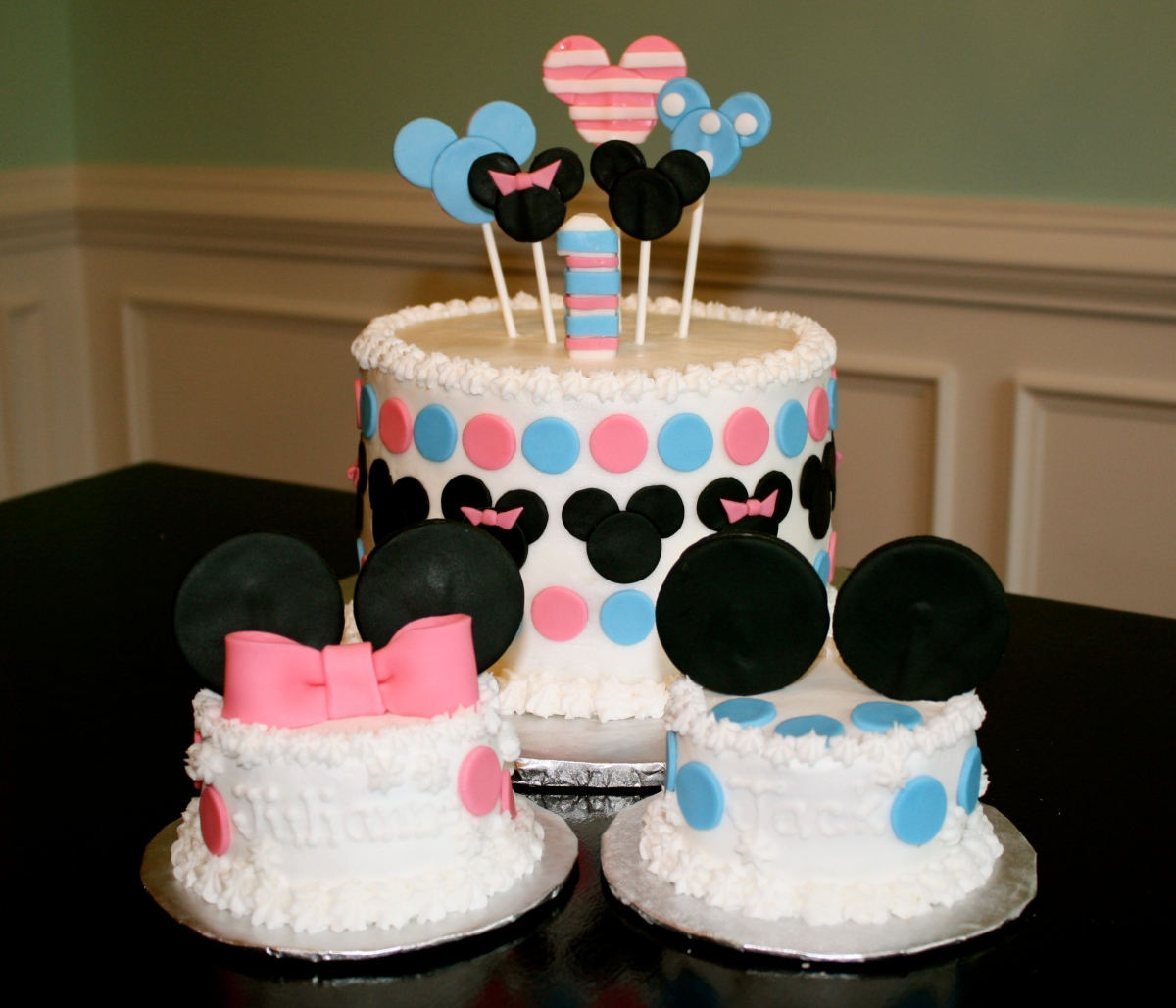 Mickey and Minnie babies  Honeycombs Cookie Company